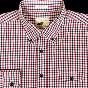 Gant Rugger Red & Blue Gingham Button Down